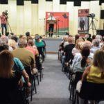 Παλμός και δυναμική στην πολιτική ομιλία του Δημήτρη Κωνσταντόπουλου στο Αγρίνιο