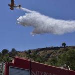 Άμεση κινητοποίηση για τη δασική πυρκαγιά κοντά στην Παλαιομάνινα