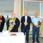 Στις τελετές Αγιασμού του 1ου Δημοτικού Σχολείου και 2ου Λυκείου ο Κώστας Λύρος