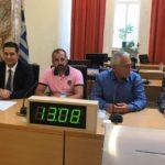 Ο Γιάννης Φαρμάκης νέος Πρόεδρος του Δημοτικού Συμβουλίου Αγρινίου