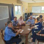 Συνάντηση του Δημάρχου Κώστα Λύρου με το Προεδρείο της Α' ΕΛΜΕ Αιτωλ/νίας