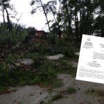 Ψήφισμα διαμαρτυρίας προς τις αρμόδιες αρχές για το επικίνδυνο άλσος του Πενταλόφου