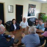 Συνάντηση του Δημάρχου Κώστα Λύρου με εκπροσώπους του Νοσοκομείου Μεσολογγίου