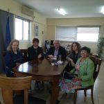 Συνάντηση του Δημάρχου Κώστα Λύρου με την Βυρωνική Εταιρεία Ι.Π. Μεσολογγίου