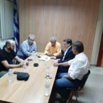 Συνάντηση Θάνου Μωραΐτη με τη Διοίκηση του Εργατοϋπαλληλικού Κέντρου Μεσολογγίου
