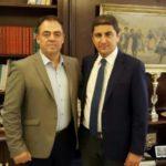 Η «ατζέντα» της συνάντησης του Δημήτρη Κωνσταντόπουλου με τον Λευτέρη Αυγενάκη