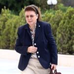 H υπουργός Πολιτισμού Λίνα Μενδώνη σε εκδήλωση στο Μεσολόγγι