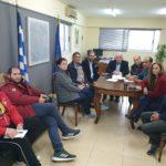 Οι εκπρόσωποι συλλόγων του Αιτωλικού συνάντησαν τον Δήμαρχο για τη διάσωση της λιμνοθάλασσας