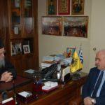 Συνάντηση του Δημάρχου Κώστα Λύρου με τον Σεβασμιότατο Μητροπολίτη Αιτωλίας και Ακαρνανίας κ. Κοσμά