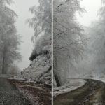 Έπεσαν τα πρώτα χιόνια στην Ορεινή Ναυπακτία