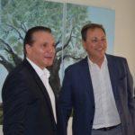 Συνάντηση του Σπήλιου Λιβανού με τον Θωμά Κουτσουπιά με θέμα την ενέργεια