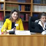 Εισηγήτρια στο 1ο Διεθνές Συμποσίο Ορθόδοξων Ψαλτριών η Χρυσούλα Τασολάμπρου