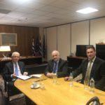 Συνάντηση του Δημάρχου Ιερής Πόλης Μεσολογγίου Κώστα Λύρου με την Διοίκηση του ΕΛΓΑ