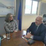 Συνάντηση με τον Δήμαρχο Ι.Π. Μεσολογγίου πραγματοποίησε η Αντιπρόεδρος της Βουλής Σοφία Σακοράφα