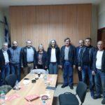 Στο επίκεντρο τα εργατικά θέματα στη συνάντηση της Σακοράφα στο Εργατικό Κέντρο Μεσολογγίου