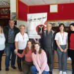 Με μεγάλη συμμετοχή στο Νεοχώρι η ενημερωτική εκδήλωση για την δωρεά μυελού των οστών