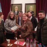 Συνάντηση της Αντιπροέδρου της Βουλής Σοφίας Σακοράφα με το Συμβούλιο Κοινότητας Μεσολογγίου