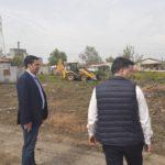 Εργασίες καθαρισμού στον καταυλισμό Pομά στο Δημοτικό Στάδιο Αγρινίου