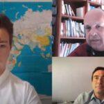 Συζήτηση με κυρίαρχο θέμα τον κορωνοϊό για τους πολιτευτές Στ. Καραγκούνη και Β. Φεύγα