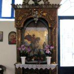 Λιτή και χωρίς πιστούς η λειτουργία στο ιστορικό εξωκλήσι του Άη Γιώργη