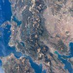 Η Αιτωλοακαρνανία από το διάστημα!