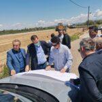 Επίσκεψη Περιφερειάρχη Νεκτάριου Φαρμάκη σε έργα της ΠΕ Ηλείας