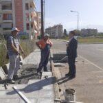 Επίσκεψη Γιώργου Παπαναστασίου σε έργα στην Οδό Σεφέρη