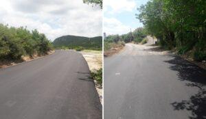 Ασφαλτοστρώθηκε ο δρόμος από Μπαμπίνη προς Αετό