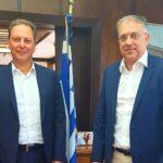 Για Ξηρόμερο και Ναυπακτία συζήτησαν Σπήλιος Λιβανός και Τάκης Θεωδορικάκος