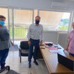 Επίσκεψη του Σπήλιου Λιβανού στον ΕΛΓΑ Αιτωλοακαρνανίας για τους πληγέντες του κυκλώνα «Ιανός»