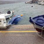 Ο «Ιανός» μπάταρε τις βάρκες στο λιμάνι του Αστακού!
