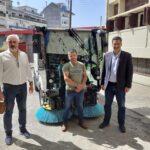 Νέο υπερσύγχρονο σάρωθρο παρέλαβε ο Δήμος Αγρινίου