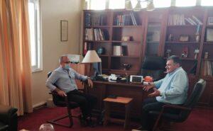 Περιοδεία του Βουλευτή ΚΚΕ Νίκου Παπαναστάση σε Νεοχώρι και Κατοχή
