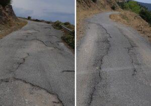 Σε άθλια κατάσταση οι (χωματό)δρομοι στη Μηλιά της Ορεινής Ναυπακτίας