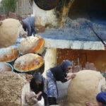 Η κατασκευή παραδοσιακού ξυλόφουρνου στο Αγράμπελο
