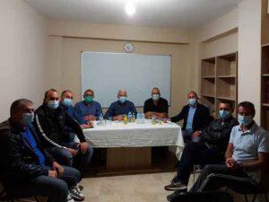 Ο Γενικός Γραμματέας της ΑΔΕΔΥ Δημήτρης Μπράτης επισκέφθηκε το Μεσολόγγι