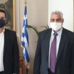 Έδωσαν τα χέρια για σύμπραξη Παπαναστασίου-Καζαντζής στο Δήμο Αγρινίου
