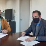 Υπογραφές Φαρμάκη για αντιπλημμυρικά και εργασίες συντήρησης σε γεφύρια της Αιτωλοακαρνανίας