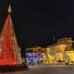 Φωταγώγηση του Χριστουγεννιάτικου δένδρου στο Μεσολόγγι