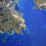 Η διαστημική ομορφιά της λιμνοθάλασσας Μεσολογγίου