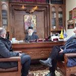 Επίσκεψη του Δημάρχου Ι.Π.Μεσολογγίου στο Μητροπολίτη Αιτωλίας και Ακαρνανίας