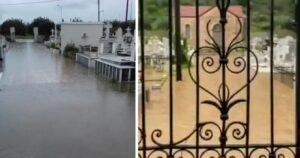 Πλημμύρισαν τα κοιμητήρια σε Αστακό και Νεοχώρι!