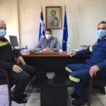 Συνάντηση του Δημάρχου Αμφιλοχίας με τον νέο Διοικητή Πυροσβεστικών Υπηρεσιών Αιτωλοακαρνανίας