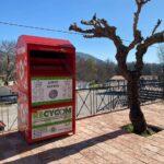 Τοποθετήθηκε κόκκινος κάδος ανακύκλωσης σε κεντρικό σημείο του Δήμου Θέρμου