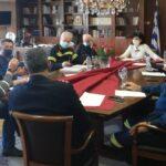 Σύσκεψη υπό την Αντιπεριφερειάρχη ΠΕ Αιτωλοακαρνανίας  Μαρία Σαλμά για την κακοκαιρία «Μήδεια»