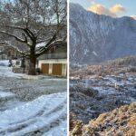 Εικόνες βγαλμένες από παραμύθι με την Μήδεια να σκεπάζει την Αράχωβα Ναυπακτίας