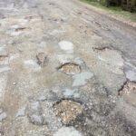Σε άθλια κατάσταση το επαρχιακό οδικό δίκτυο πλησίον της Άνω Γαβαλούς