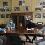 Επίσκεψη του Δημ. Κωνσταντόπουλου στον Αγροτικό Συνεταιρισμό Μεσολογγίου – Ναυπακτίας «Η Ένωση»