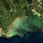 Εντυπωσιακές εικόνες του δορυφόρου Sentinel-2 από την κακοκαιρία της 26ης Ιανουαρίου που έπληξε την Αιτωλοακαρνανία