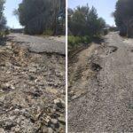 «Χωράφι» οι δρόμοι μέσα στη Σταμνά – Έντονες διαμαρτυρίες των κατοίκων!